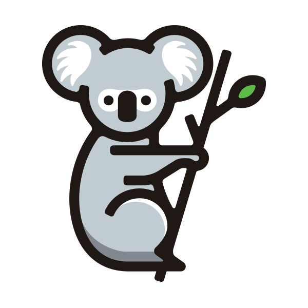 The Kolla logo is a stylised cartoon koala