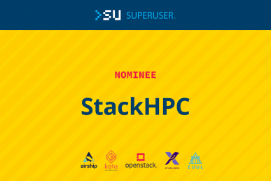 SuperUser StackHPC nomination